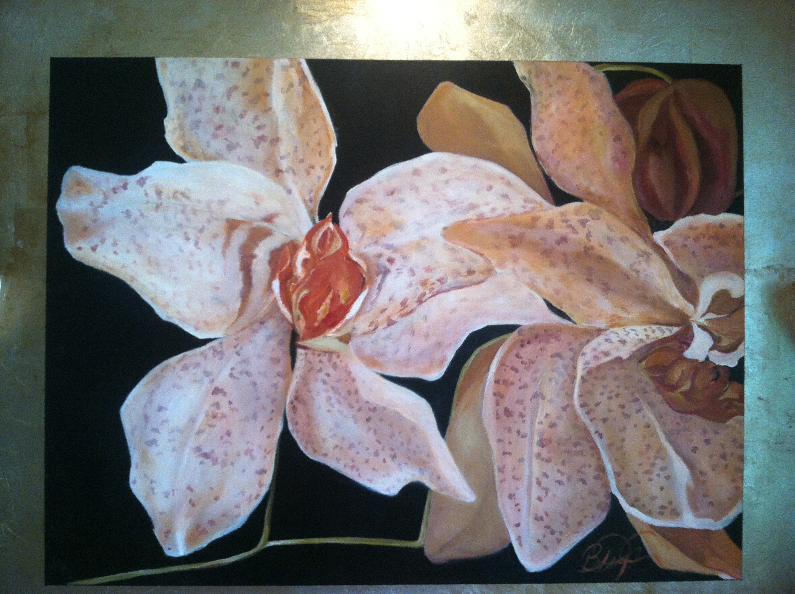 Orchids on Canvas
